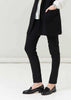 Peggy Slim Pull On Tregging Trouser - Black