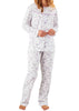 Penny Floral Pure Cotton Long Sleeve PJ Set - Lavender Floral