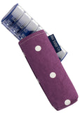 Weekly Pill Box & Case by Blue Badge Company - Spotty Grape