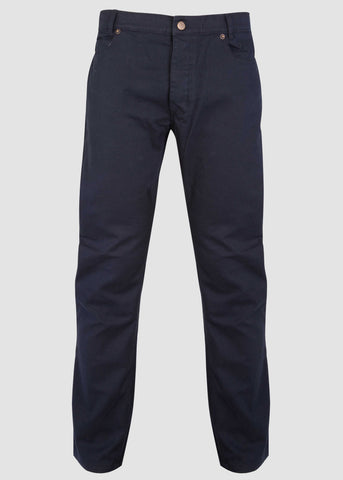 Spencer Straight 5 Pocket Velcro Trouser - Midnight: VAT Exempt
