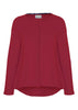 Stella Jersey Top - Dragon Red