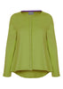 Stella Jersey Top - Golden Lime: VAT Exempt