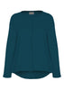 Stella Jersey Top - Deep Teal: VAT Exempt
