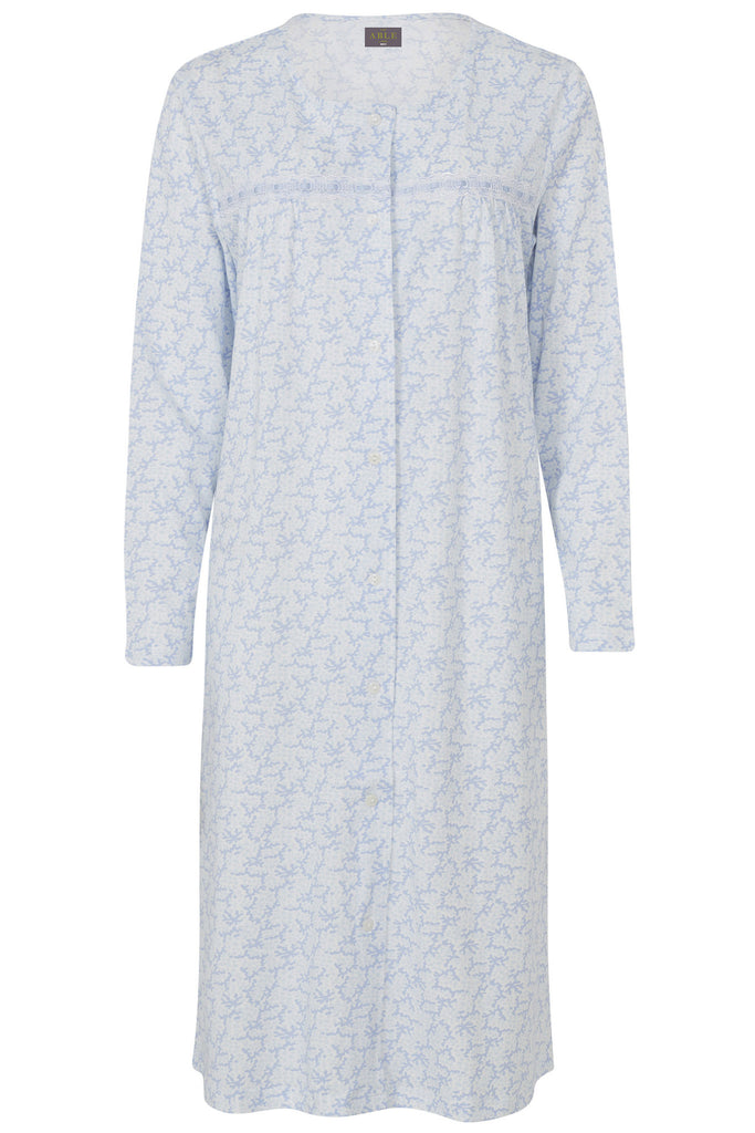 Jo Jersey Nightdress - Seaspray: VAT Exempt