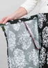 Toni Cotton Wrap Skirt - Black Floral