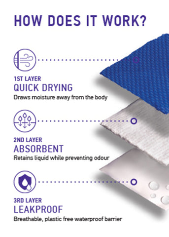 How our absorbent knickers work