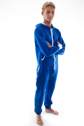 Adults Royal Blue Onesie