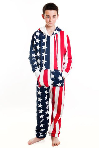 Children's USA Stars and Stripes Onesie