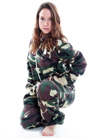 Camouflage Army Print Onesie