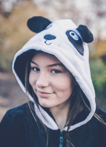 Panda Black & White Onesie