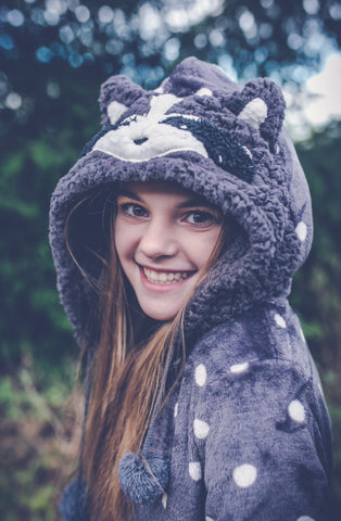 Raccoon Grey Onesie