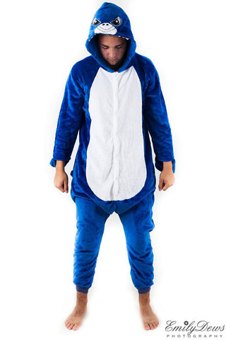 Shark Onesie Kids & Adult (unisex)