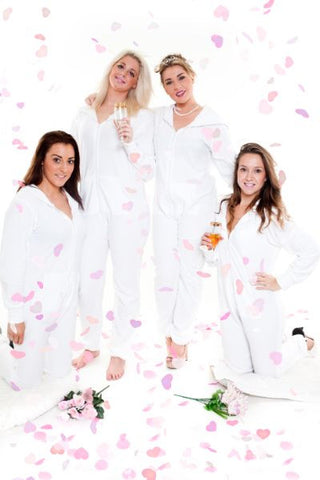 White Tracksuit Onesie (Limited Edition)