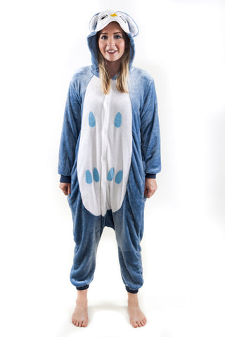 Folly Wildlife Owl Onesie Adult (unisex)