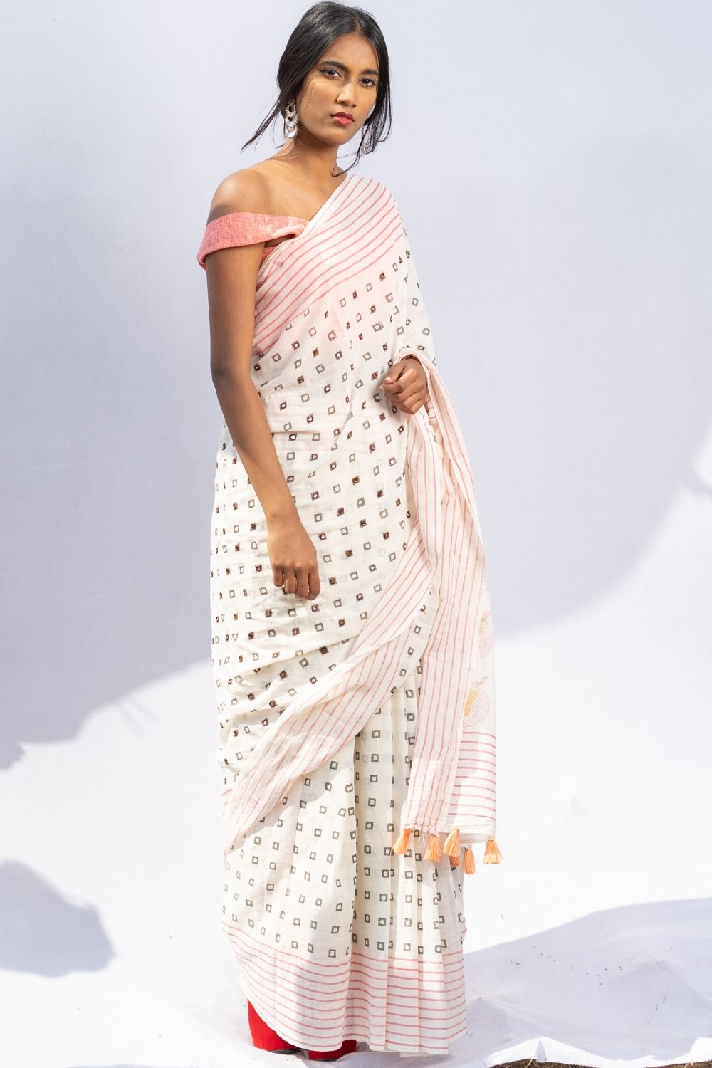 The Fish and The Sun Saree