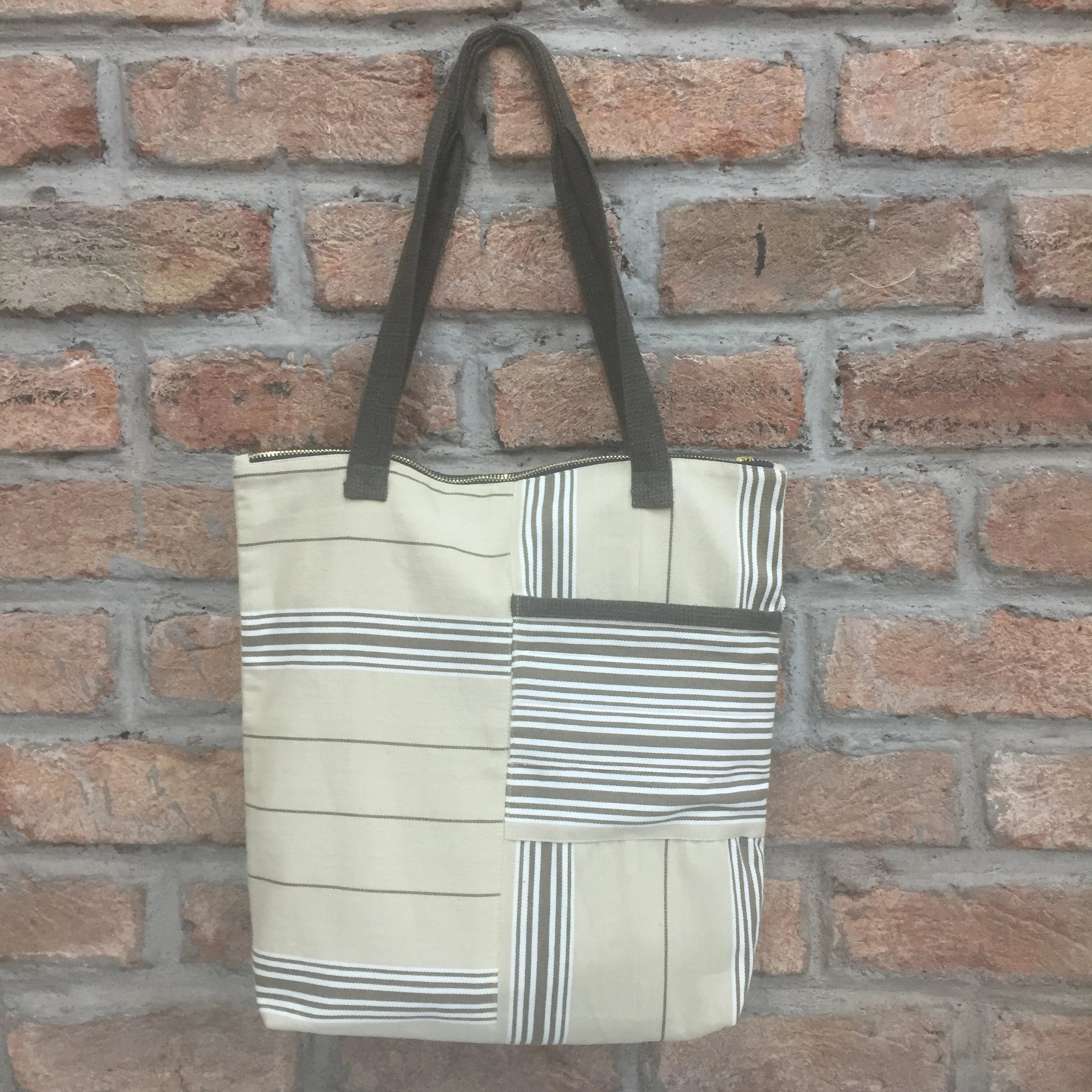 Tote Bag with Pocket