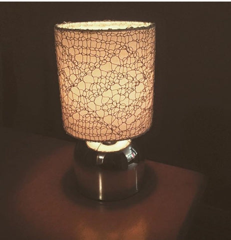 lampshade knit lace