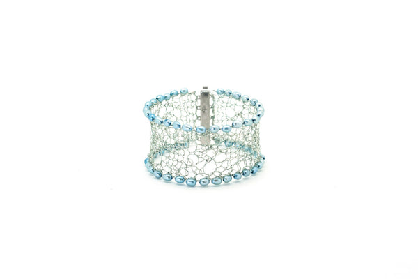 Knit Your Own Silver Lace Cuff - Online 27th Nov, 4th Dec & 11 Dec 23.00 - 01.00 GMT