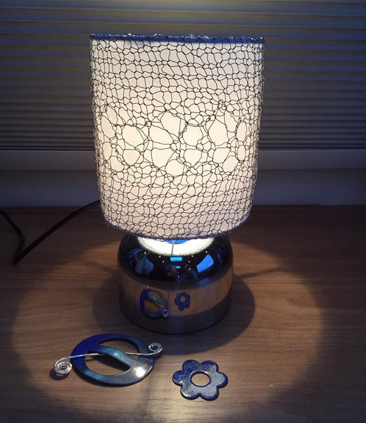 Knit Your Own Lampshade - Online - 2 week Class