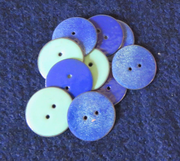 Enamel Your Own Small Buttons - Arrange Your Own Class