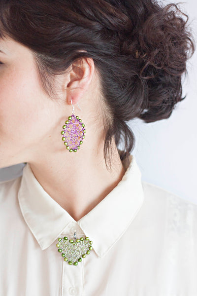 Knit Your Own Wire Earrings