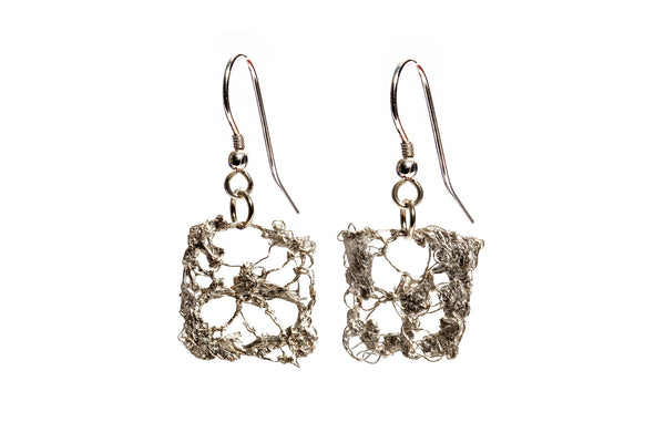 Silver Frost Earrings