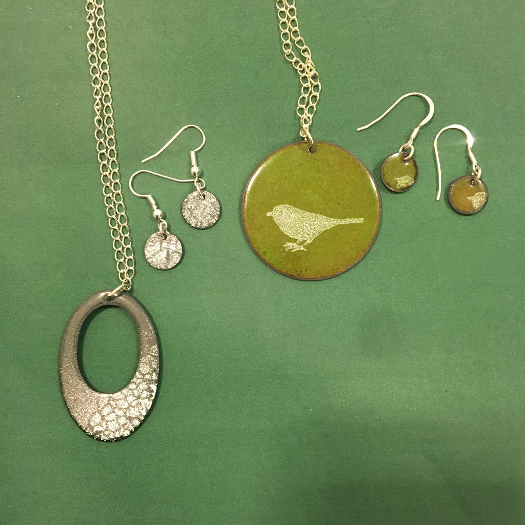 Enamel Your Own Necklace and Earrings Set - Arrange Your Own Class