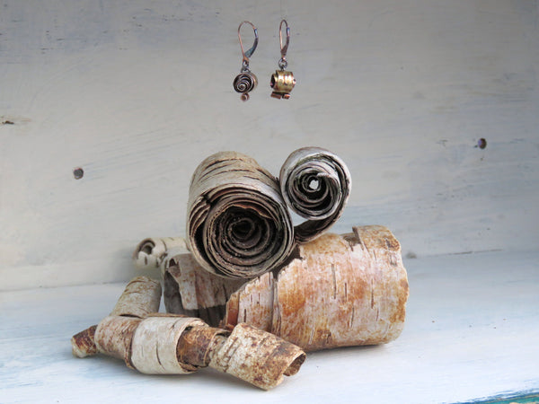Driftwood Dangly Earrings
