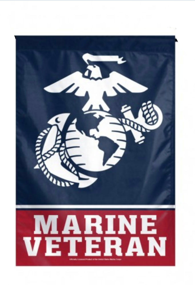 US Marines Veteran Fan Flag - 1 Flag