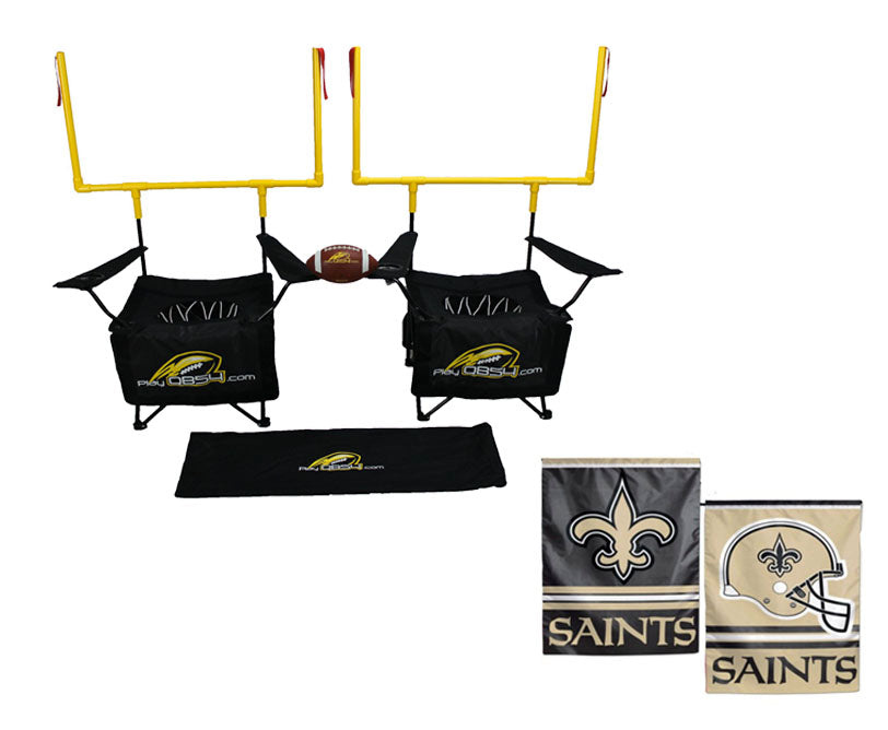 QB54 Saints Bundle - Contains 1 QB54 game and 1 New Orleans Saints Flag