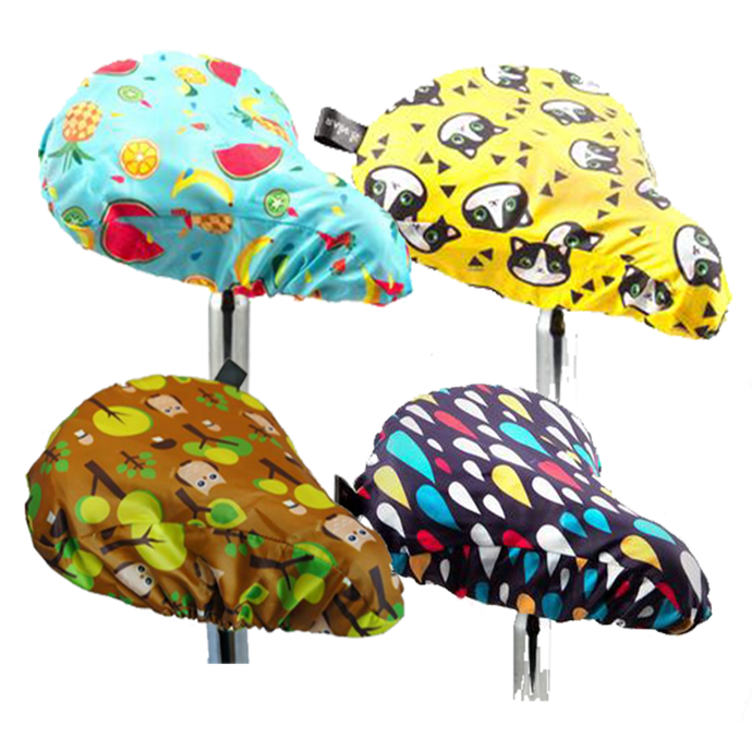 Pushbike seat covers by RAIN:IS