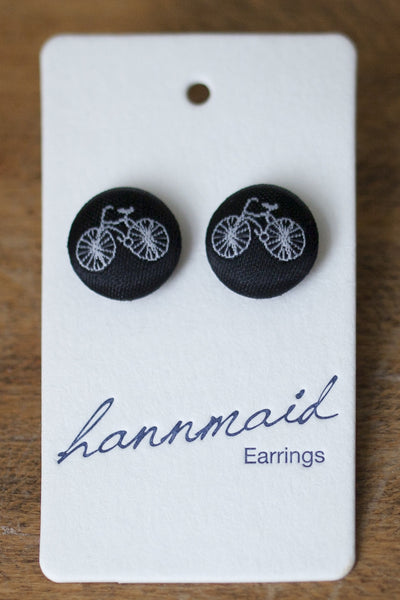 Pushbike Earrings