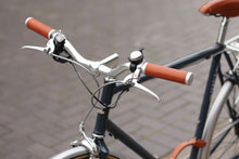 Bike Handlebar leather grips by Temple Cycles