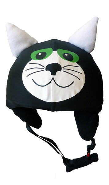 Black Cat helmet Cover