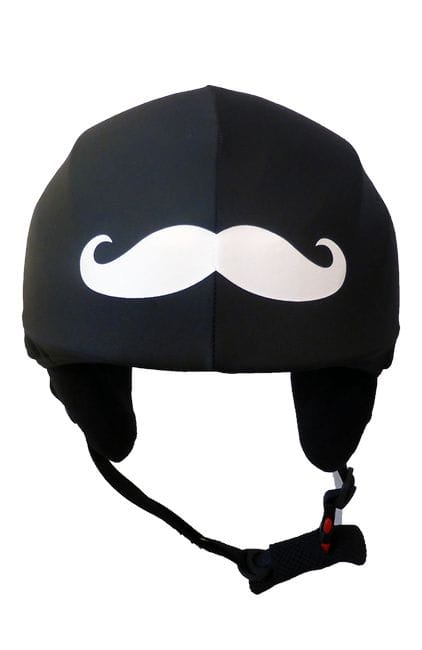 Moustache - Helmet Cover