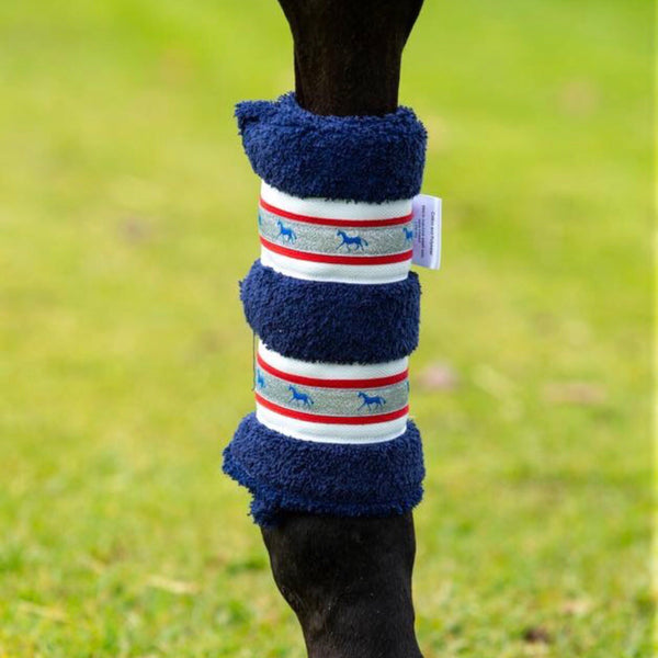 Deluxe Horse Boots - Navy Champion (set of 4)