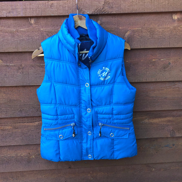 Aqua Blue Mondoni Vest- Ladies XS