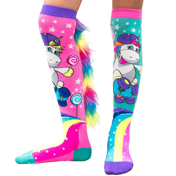 MadMia Skateboard Unicorn Socks - NEW!