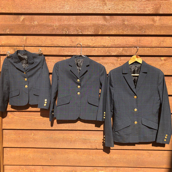 4 Piece Navy Leading Rein Set