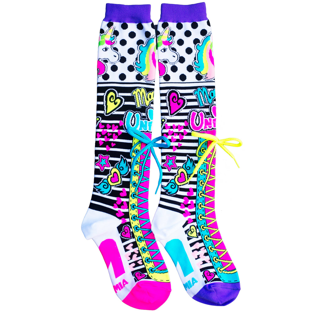MadMia Unicorn Magic Socks - NEW!