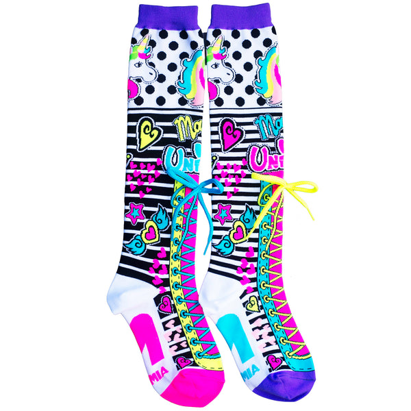 MadMia Unicorn Magic Socks