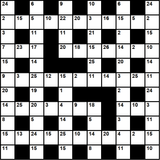 British 11x11 codeword puzzle no.310
