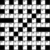 British 11x11 codeword puzzle no.323