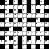 British 11x11 codeword puzzle no.324