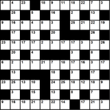 British 11x11 codeword puzzle no.325