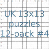 uk 13x13 crossword-puzzles 12-pack no.4