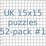 British 15x15 puzzles 52-pack no.1