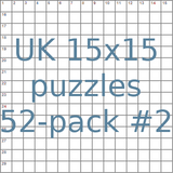 British 15x15 puzzles 52-pack no.2