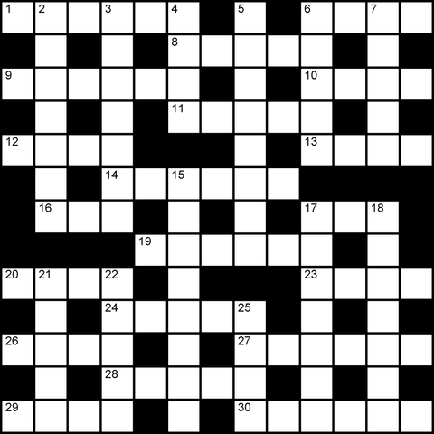 uk 13x13 crossword puzzle no.318