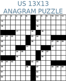 American 13x13 anagram crossword puzzle no.310